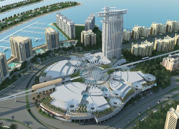 Plam Jumeirah Dubai Getting A New Mall From Nakheel The Palm Jumeirah